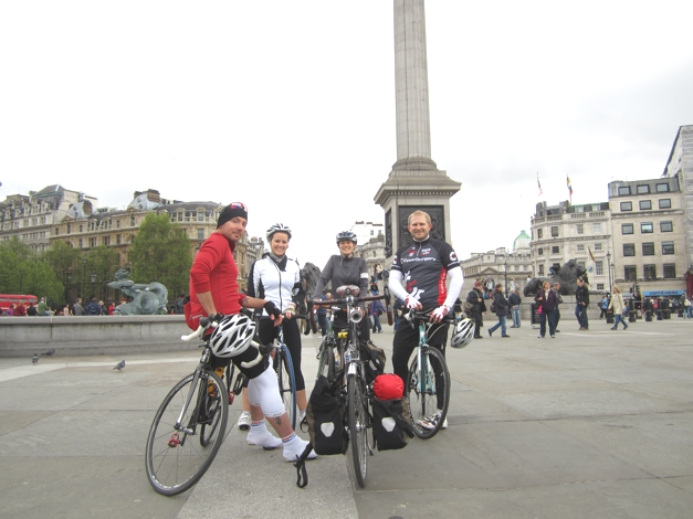 15th May 2012, London2Paris Adventure number 3 - this time we had far less rain