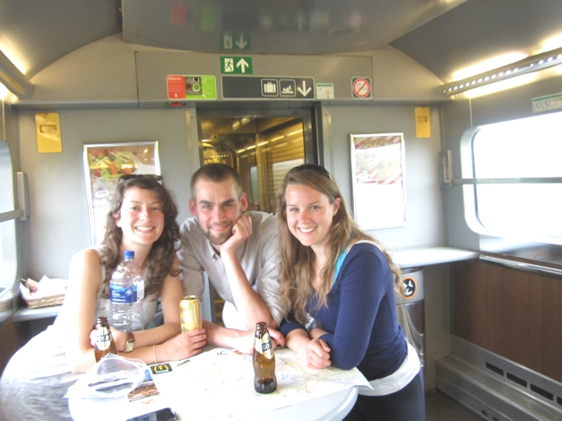 On the Eurostar home the next day, fantastic adventure
