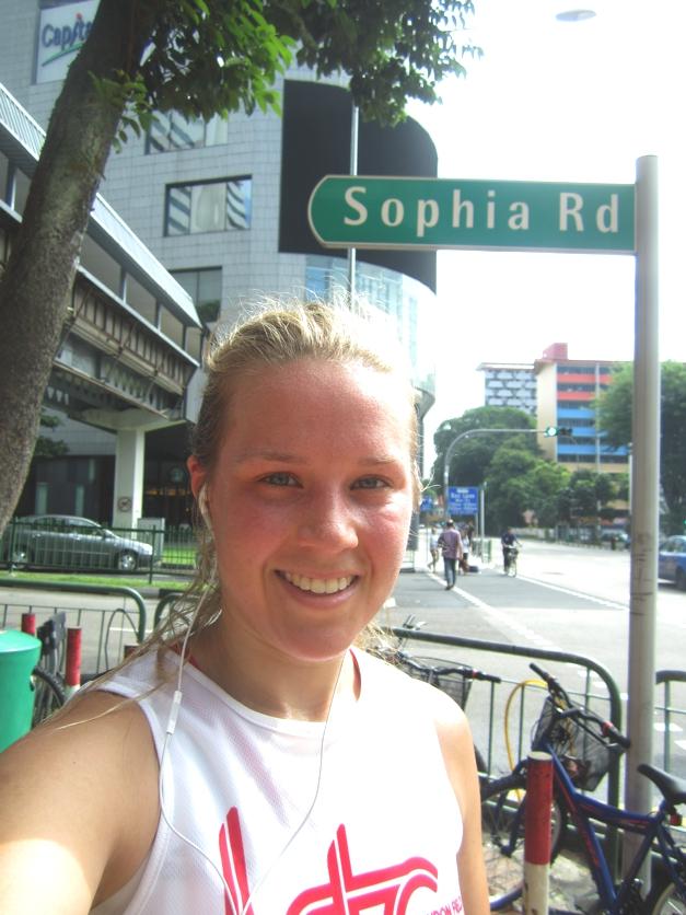 Sophia Road... so welcoming