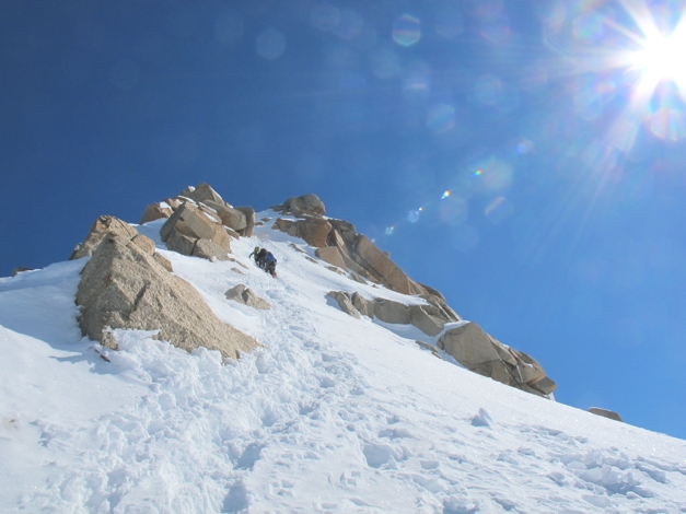 Classic Alpine Route - Cosmiques Arete