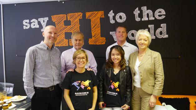 The team behind the Big Blog Exchange