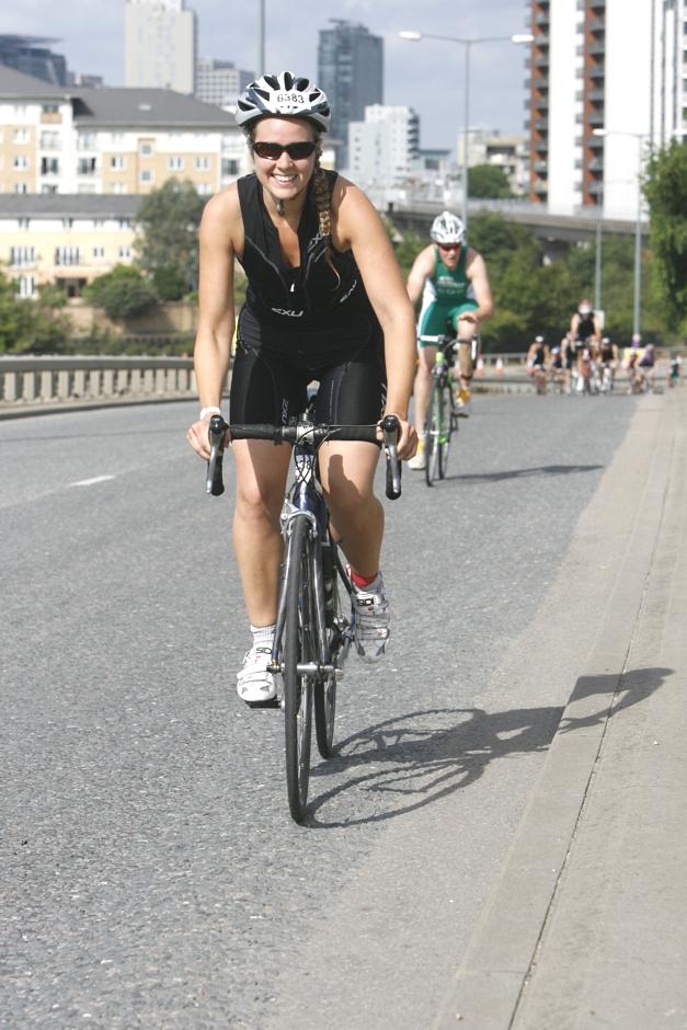 Bike course lap 1