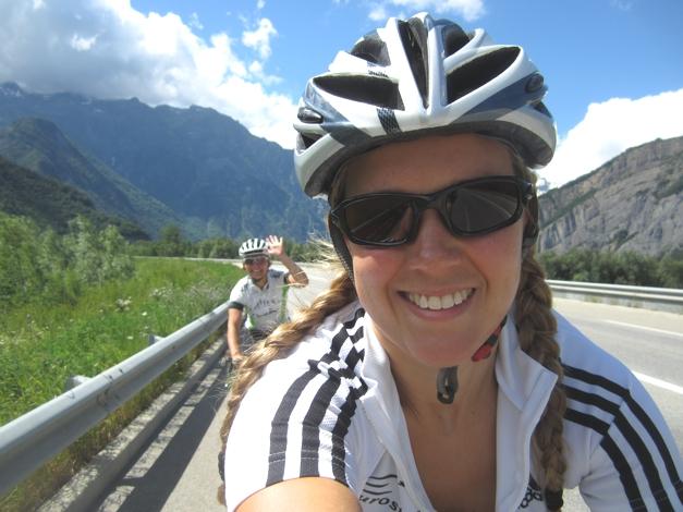 Cycling Alpe D'huez