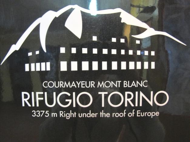 Torino Hut, Italy 3375m