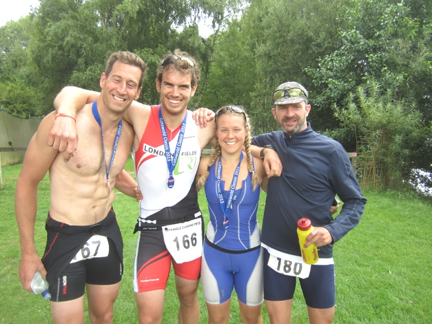 Great to race with friends