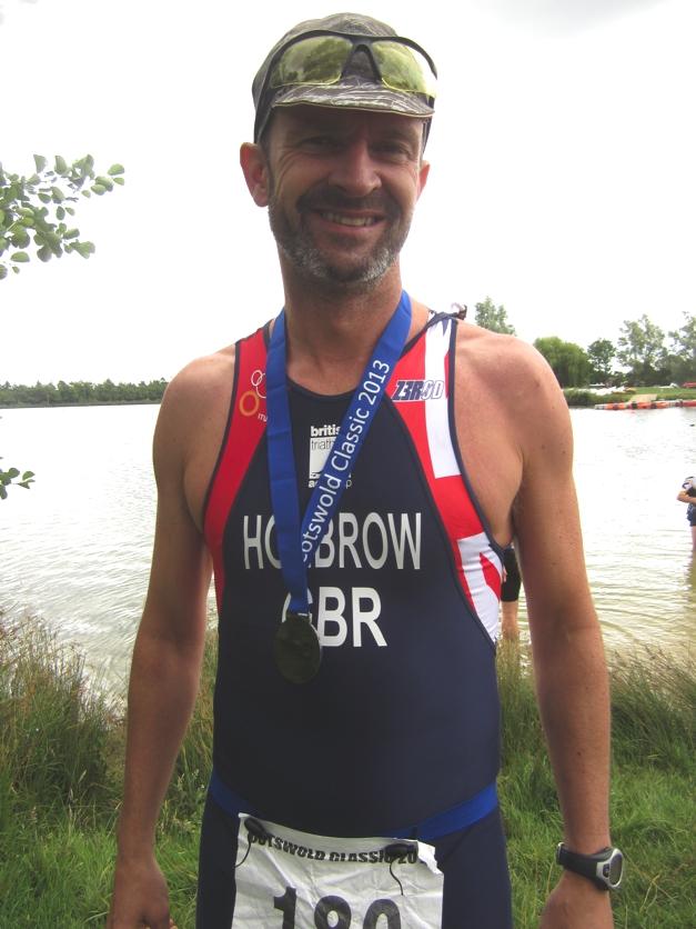 Inspiring Guy Holbrow - racing for GB in September
