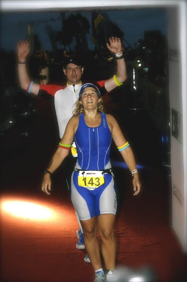 Challenge Sophie, Ironman Wales