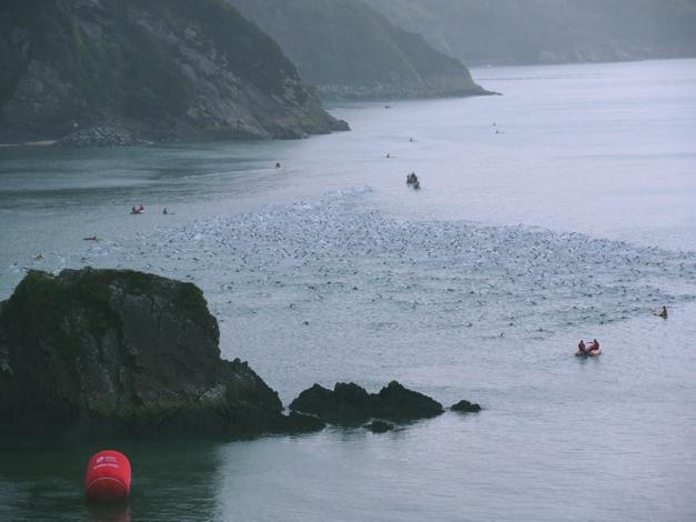 Ironman Wales, Tenby swim course