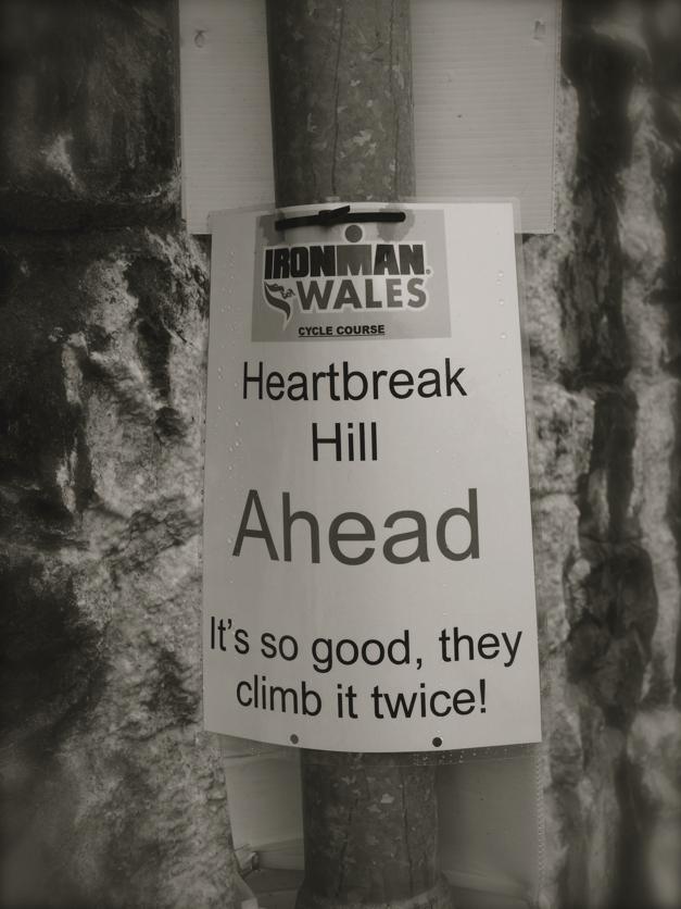 Ironman Wales bike course, Heartbreak Hill