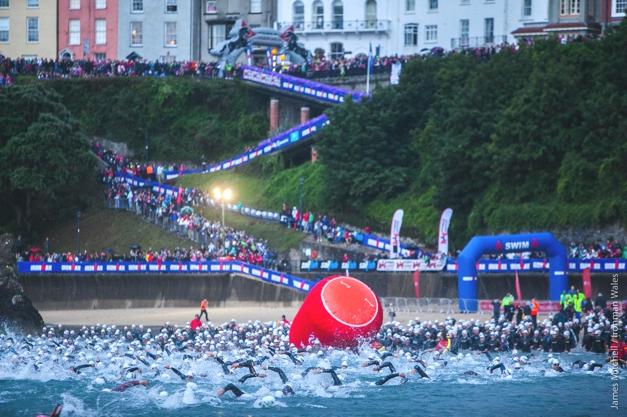Ironman Wales 2013 swim start