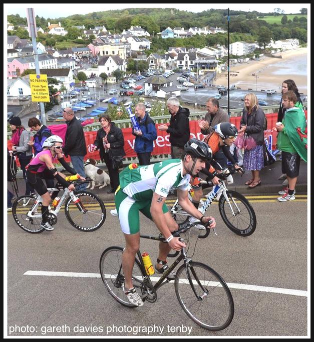 Ironman Wales bike course Heartbreak Hill