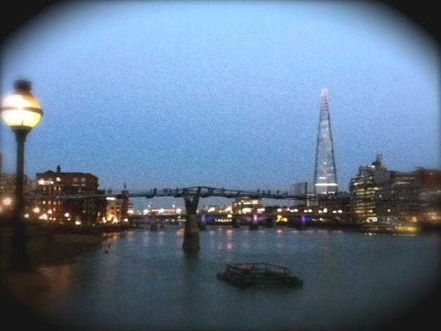 The Shard at Twilight