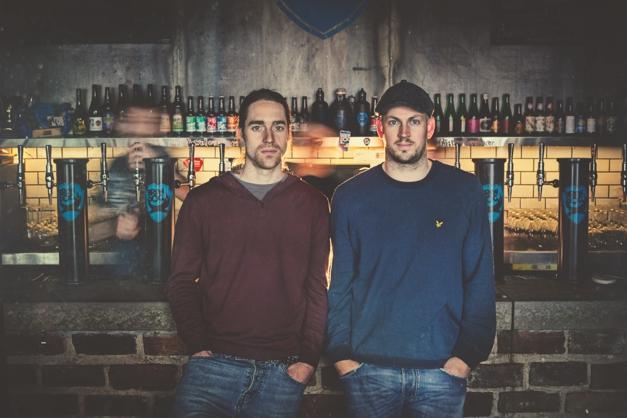 Martin and James, BrewDog