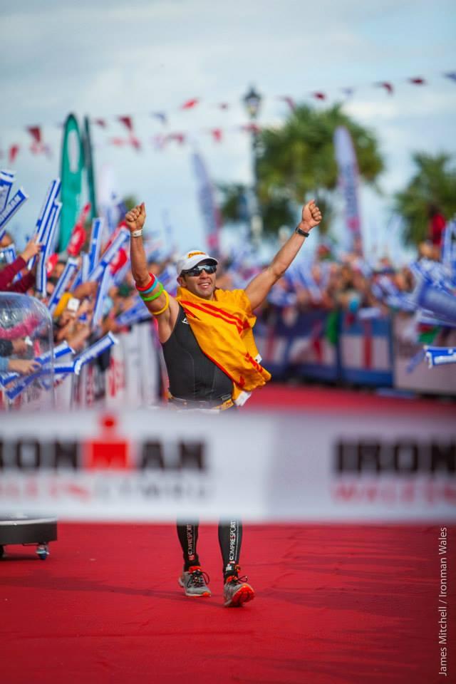 Scott Neyedli Ironman Wales