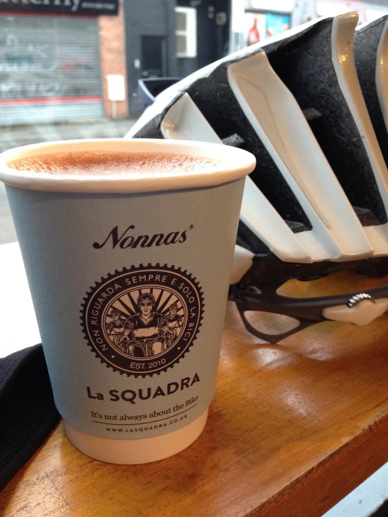 Hot chocolate at Nonnas