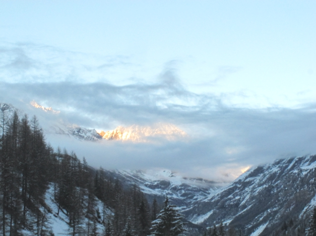 Sunset Cogne