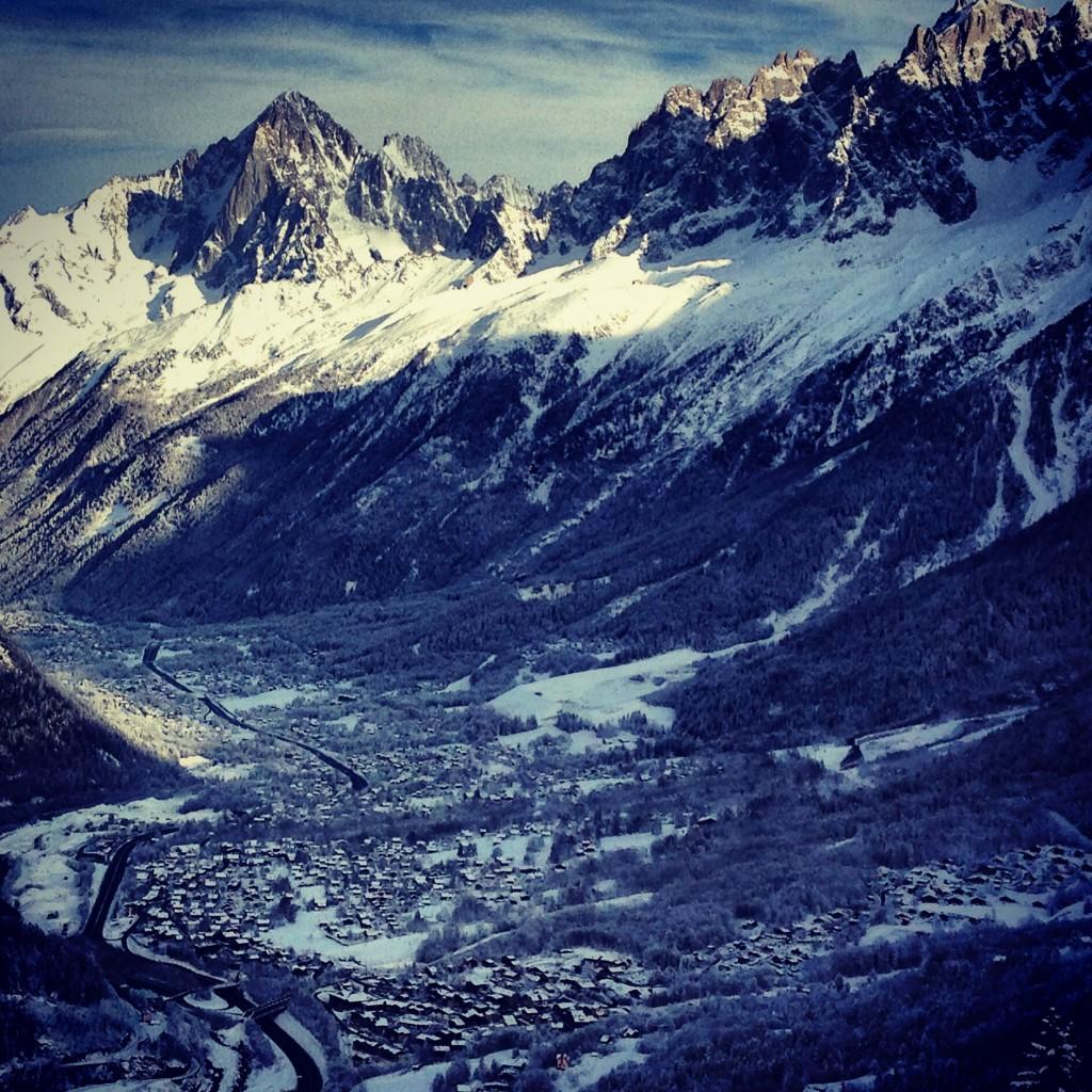 Chamonix, Les Alps