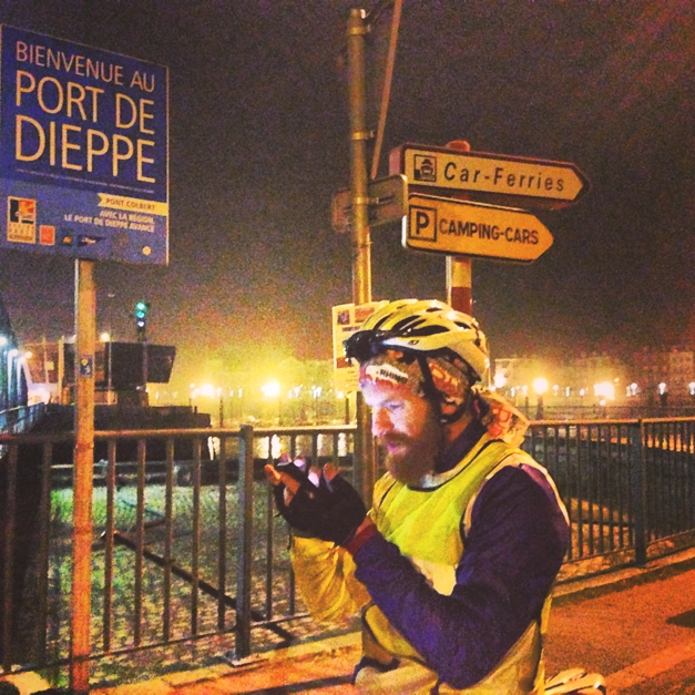 Route finding in Dieppe