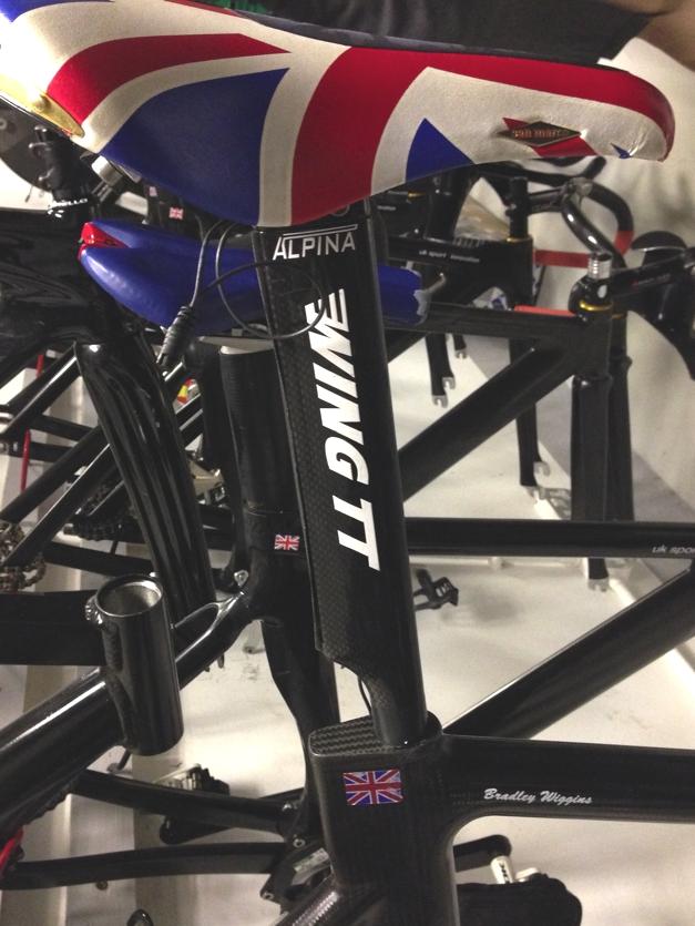 Bradley Wiggin's Bike