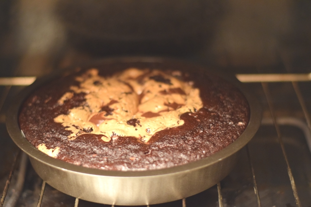Chocolate and peanut butter brownies, healthy recipes from Sophie Radcliffe