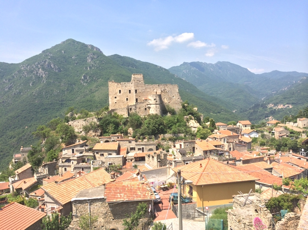 Weekend in Castelvecchio, Finale, Italy, Sophie Radcliffe