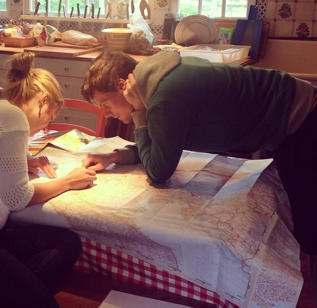 Route planning for the Alpine Coast to Coast