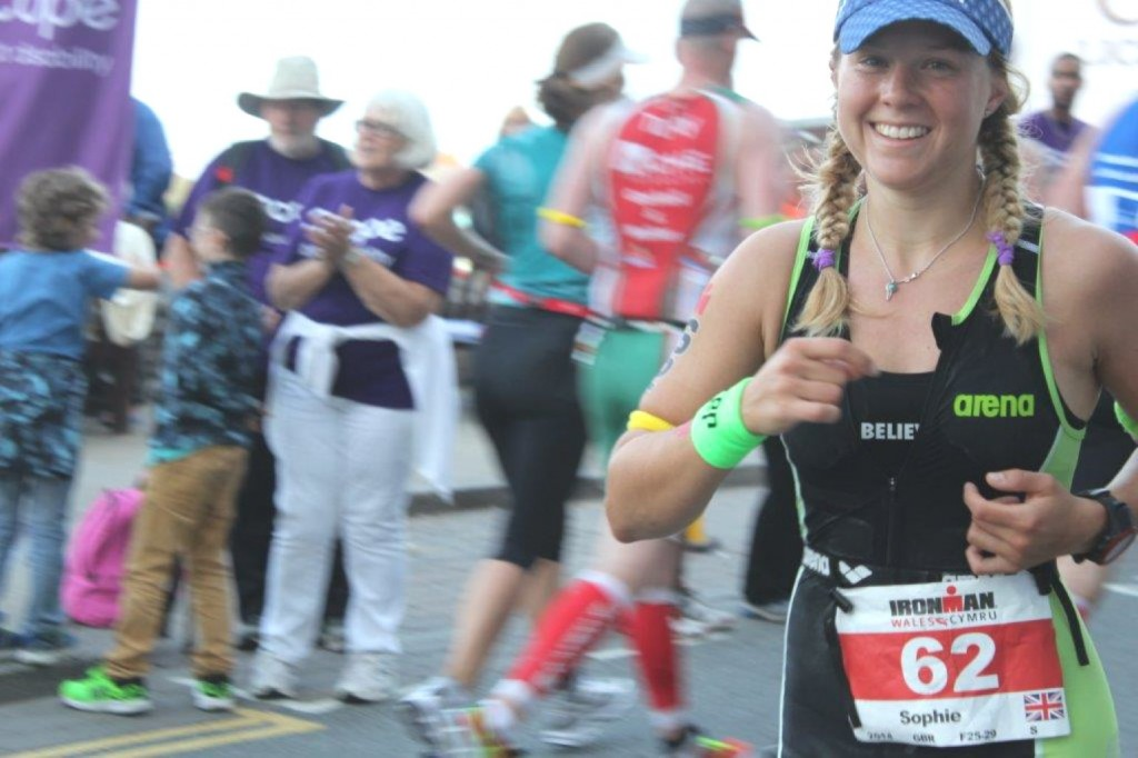 Sophie Radcliffe, Ironman Wales