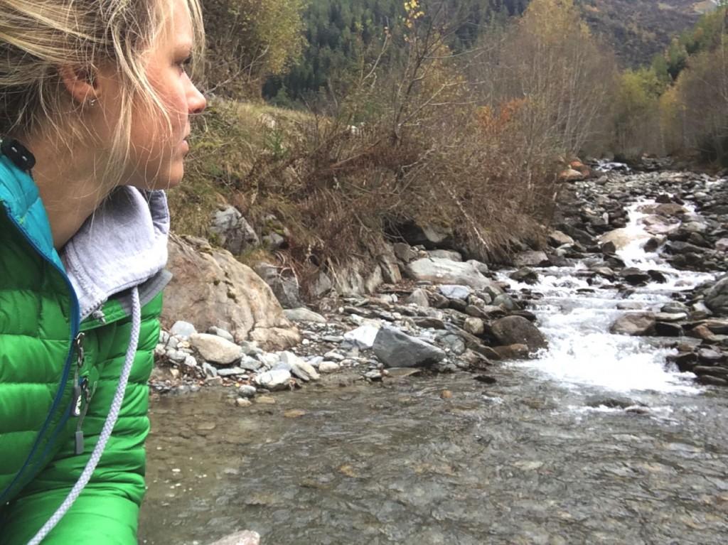 Sophie Radcliffe, Autumn in Chamonix