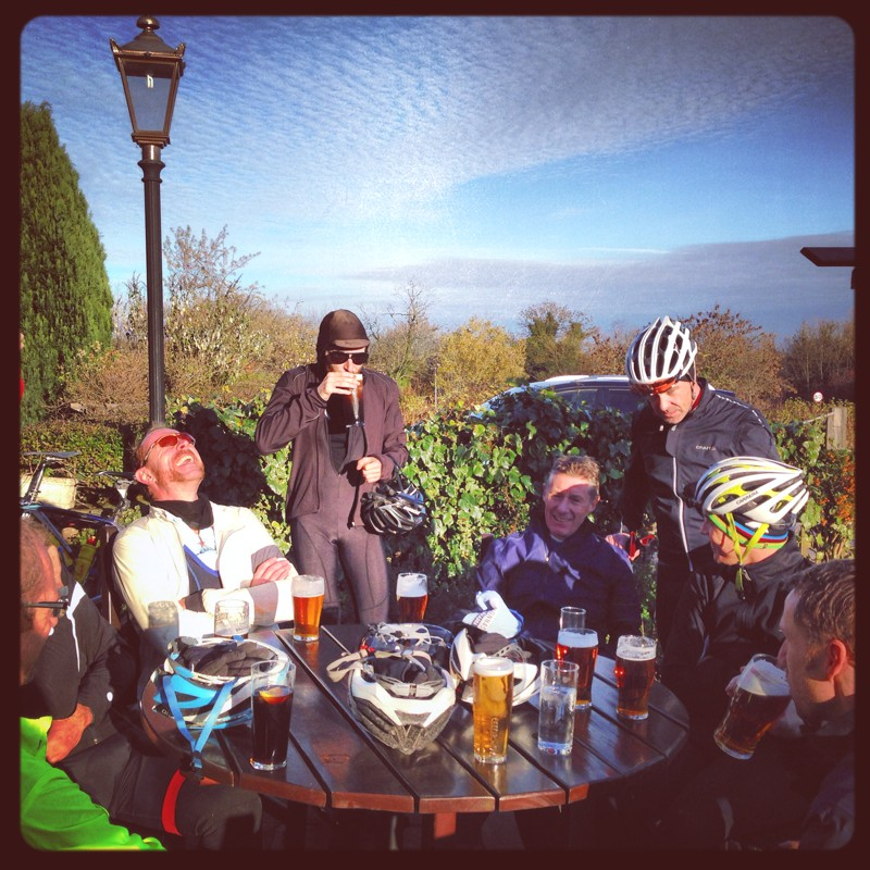 Cycling with La Squadra club in the Peak District