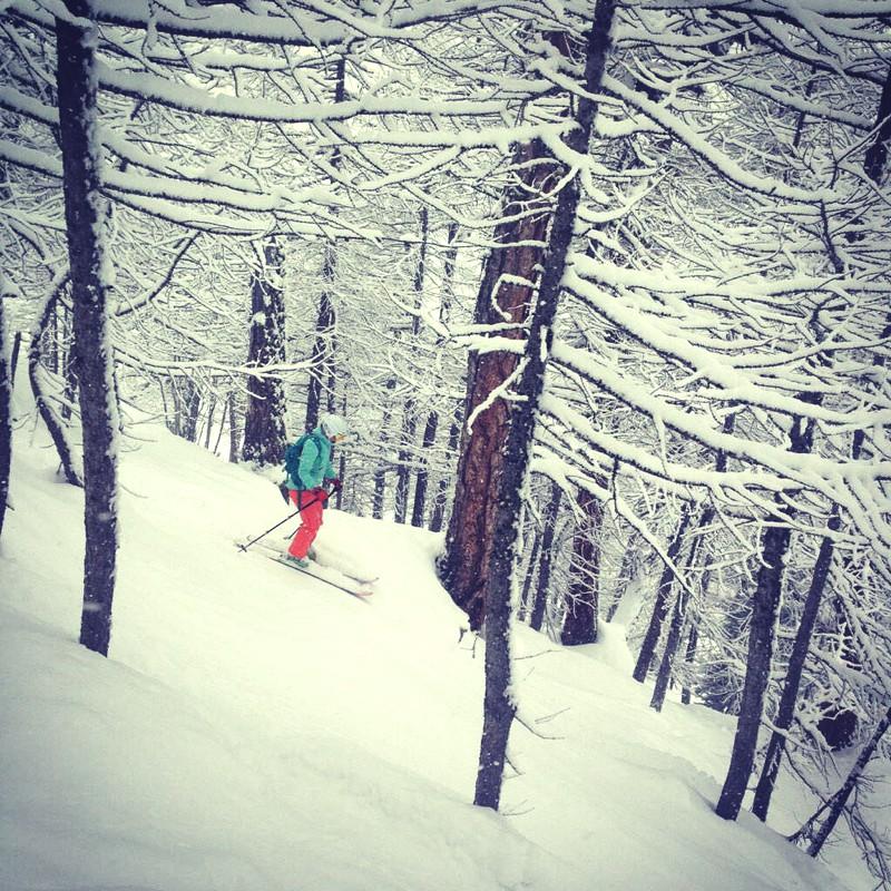 skiing in Courmayeur