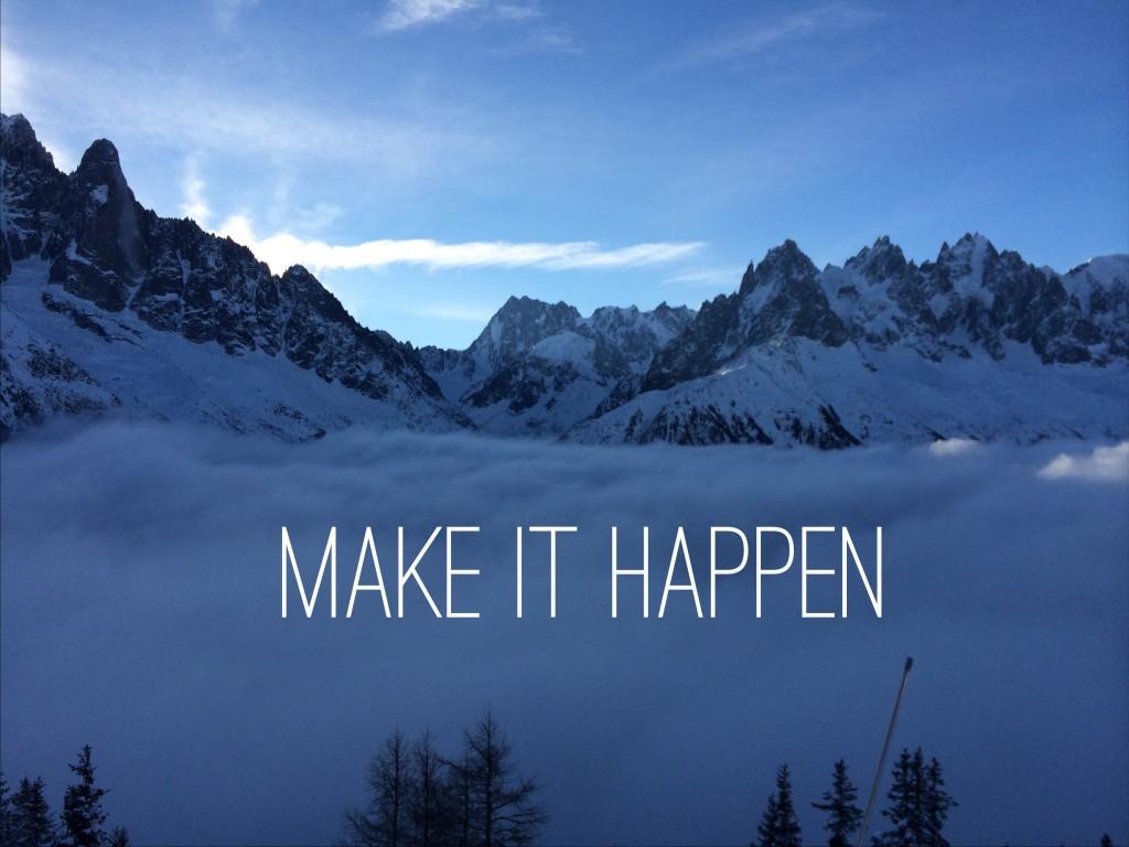 Make It Happen, International Womens Day 2015