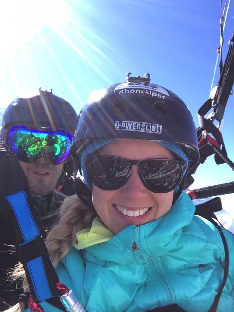 Challenge Sophie, Sophie Radcliffe. Vertical Kilometre, Chamonix