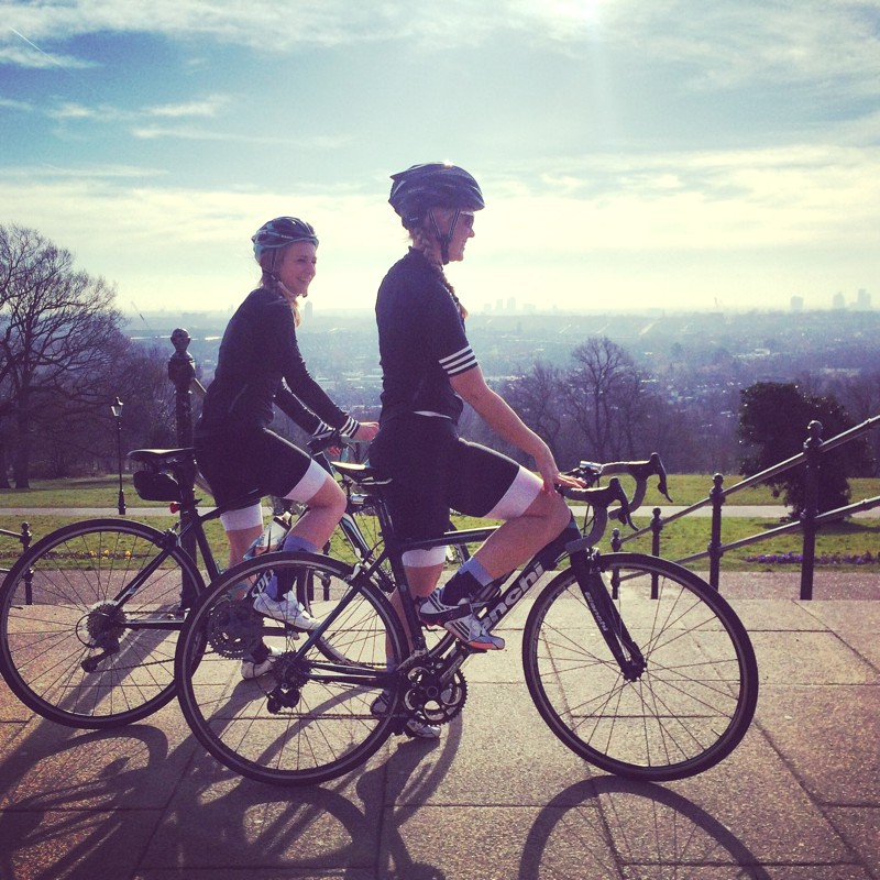 Sophie Radcliffe - Adidas own the road, cycling challenge