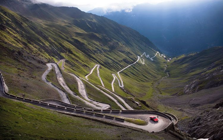 The Stelvio Pass, own the road Adidas cycling