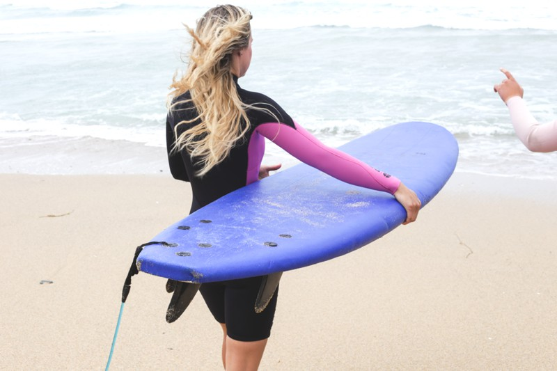 Learning to surf with Protest and Challenge Sophie