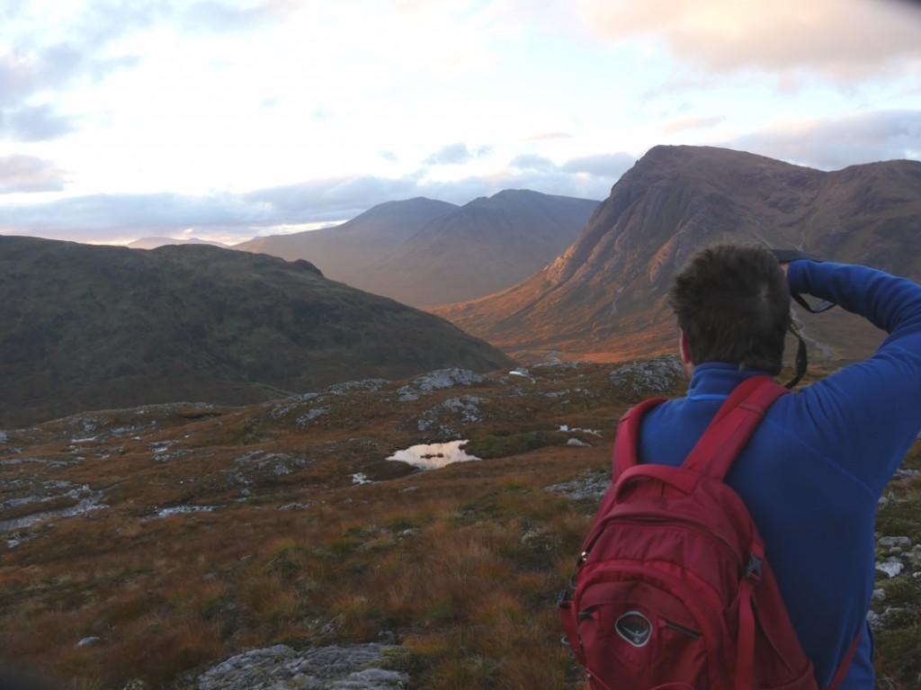 sunrise scotland glen coe adventure