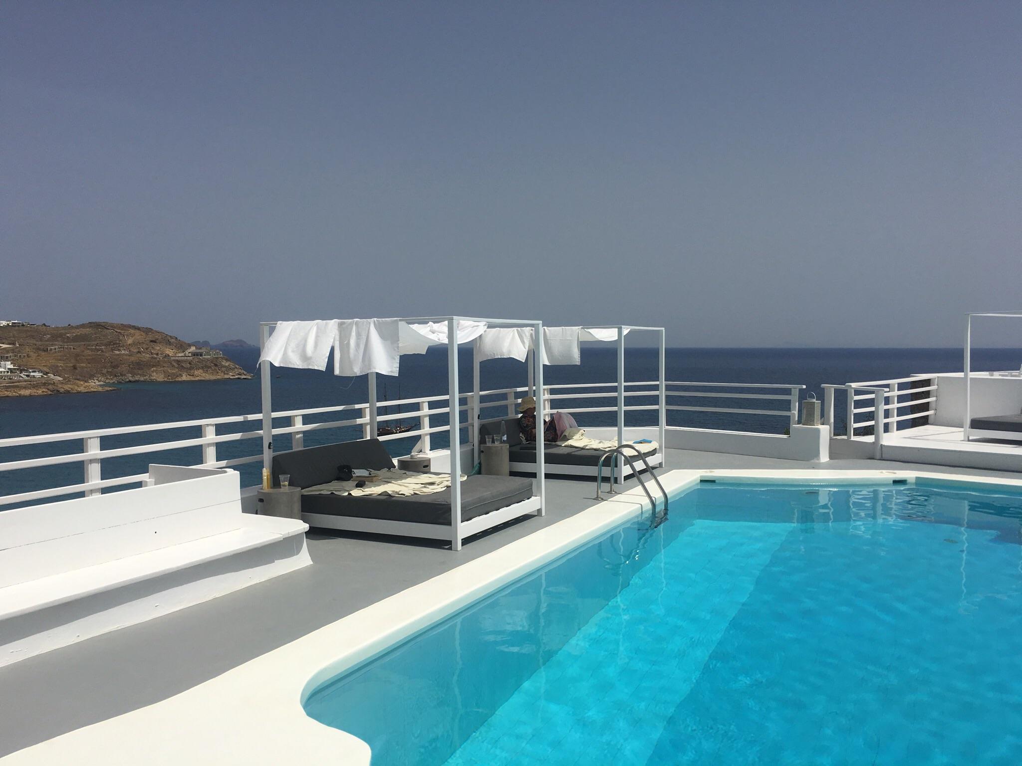 Pool side heaven at Pietra e Mare