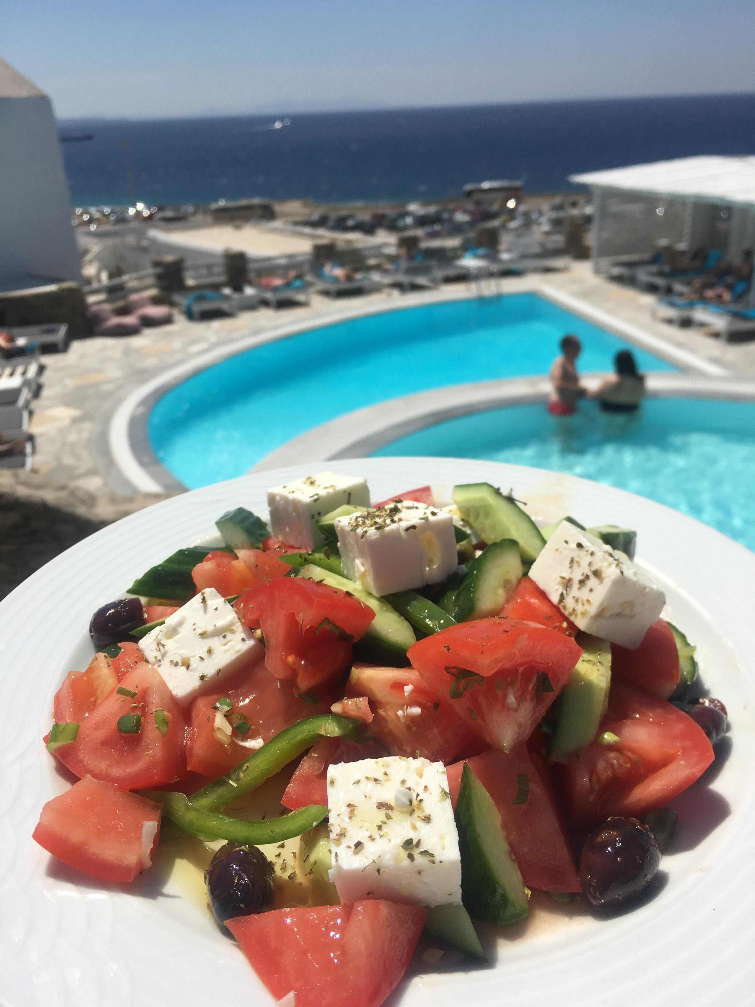 Those Greek salads