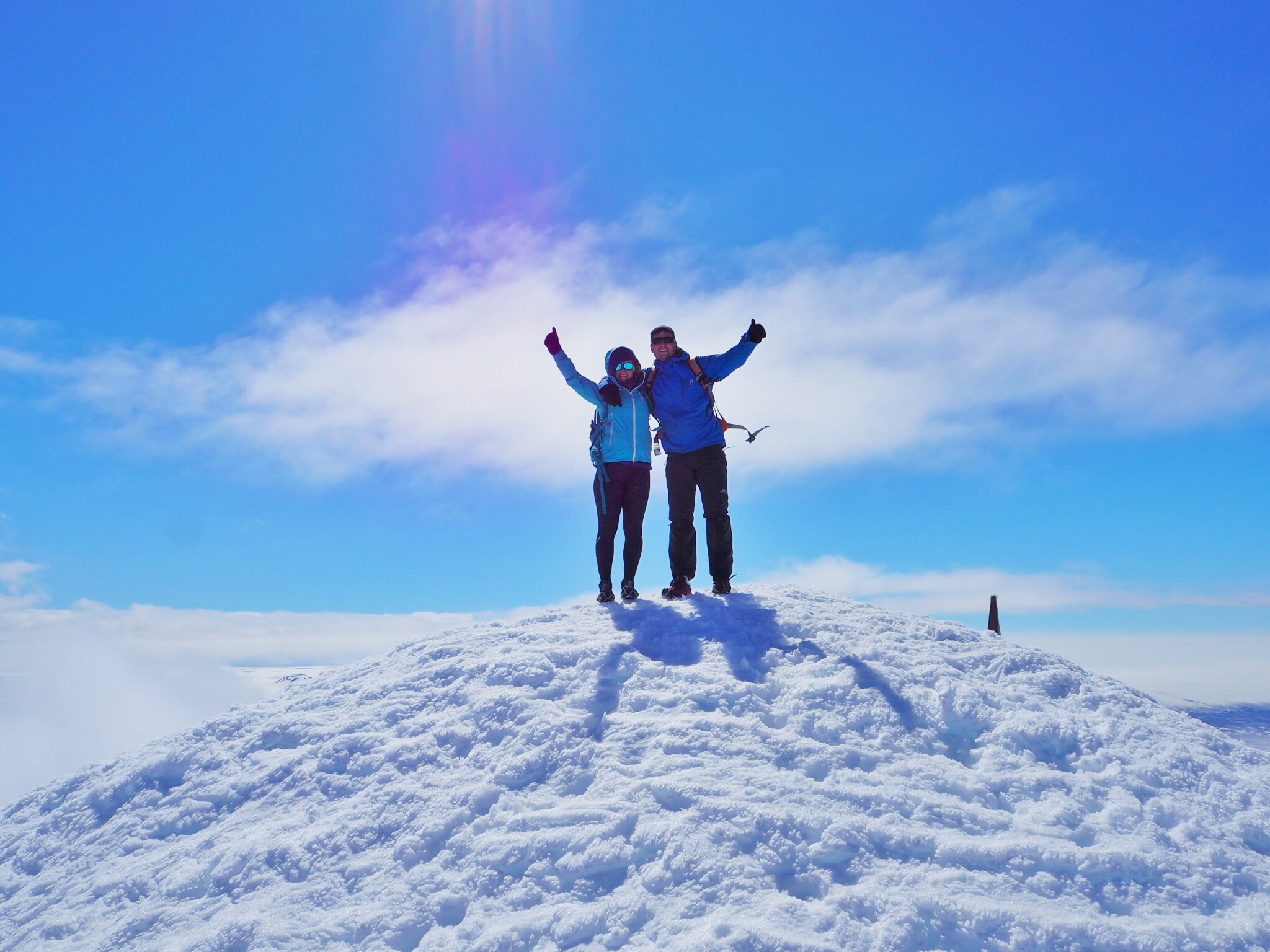 Climbing Snaefell Iceland, Discover The World and Sophie Radcliffe