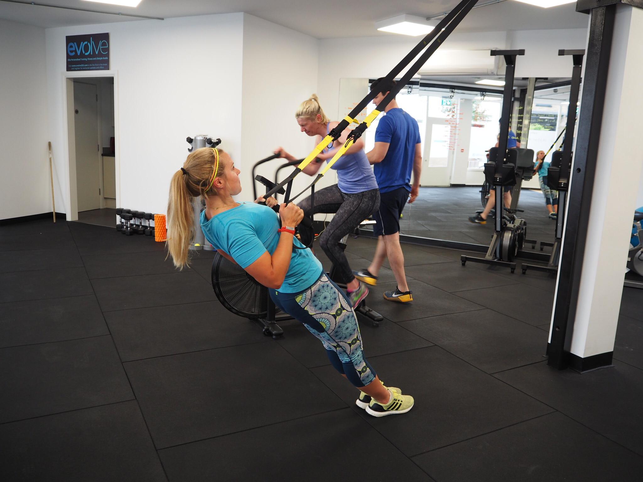 Sophie Radcliffe Fitness Challenge Evolve353