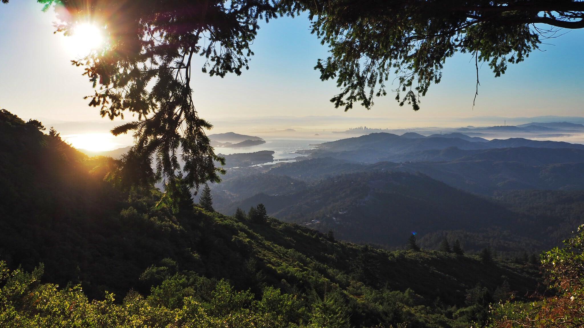 sleep under the stars, micro adventure california