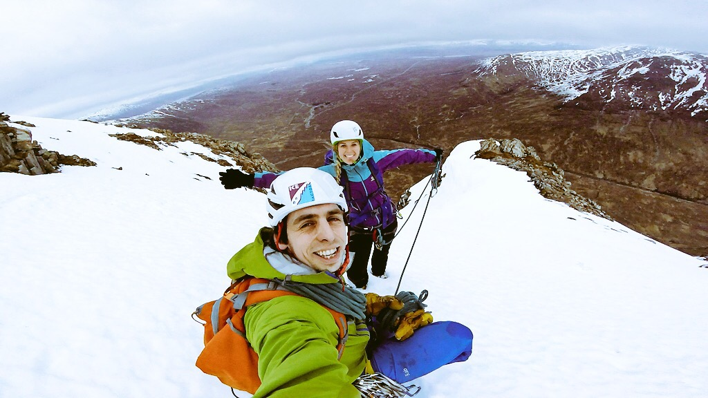 Sophie Radcliffe, winter adventure inspiration and climbing