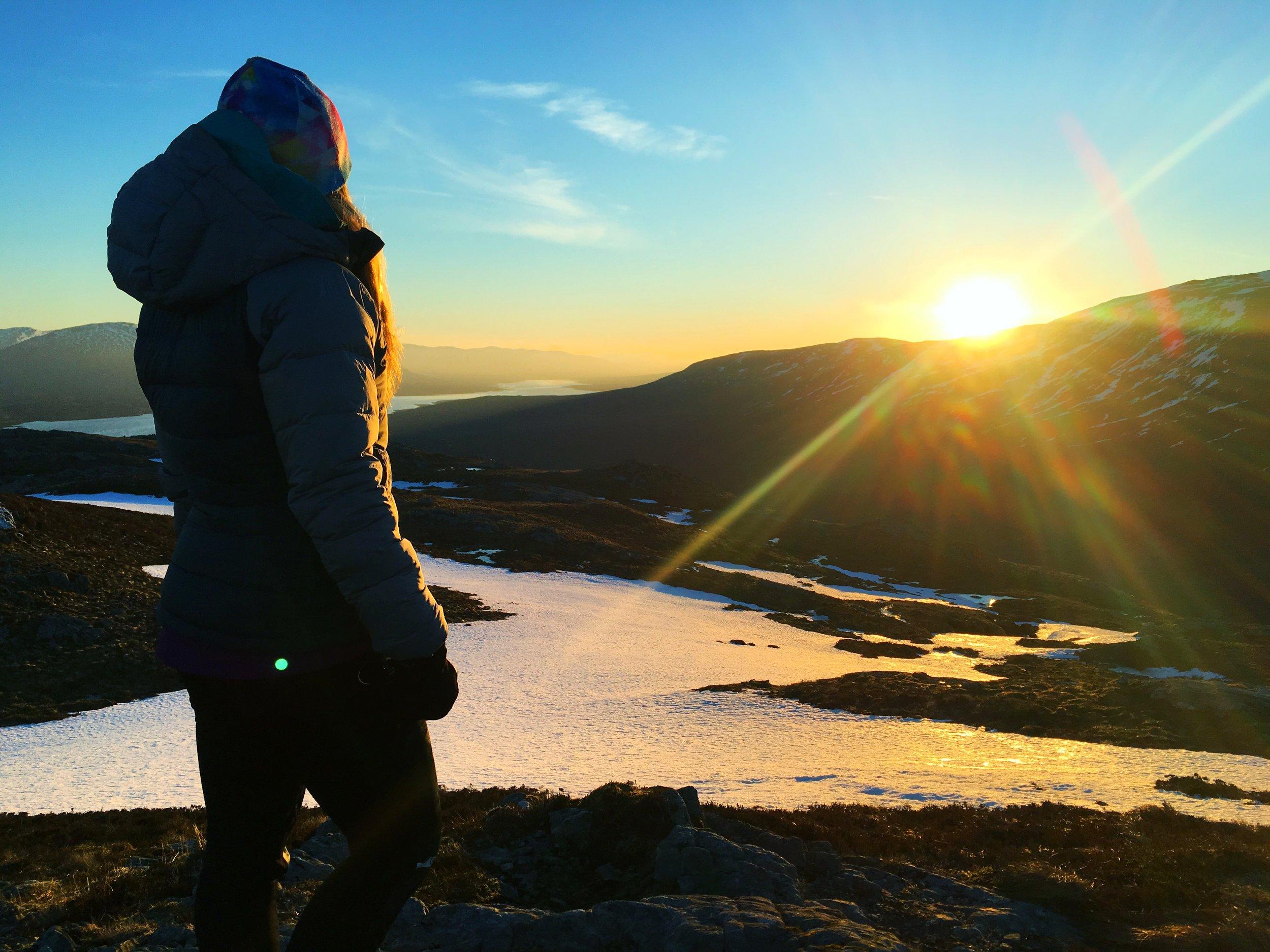 Sophie Radcliffe, Winter Adventures inspiration