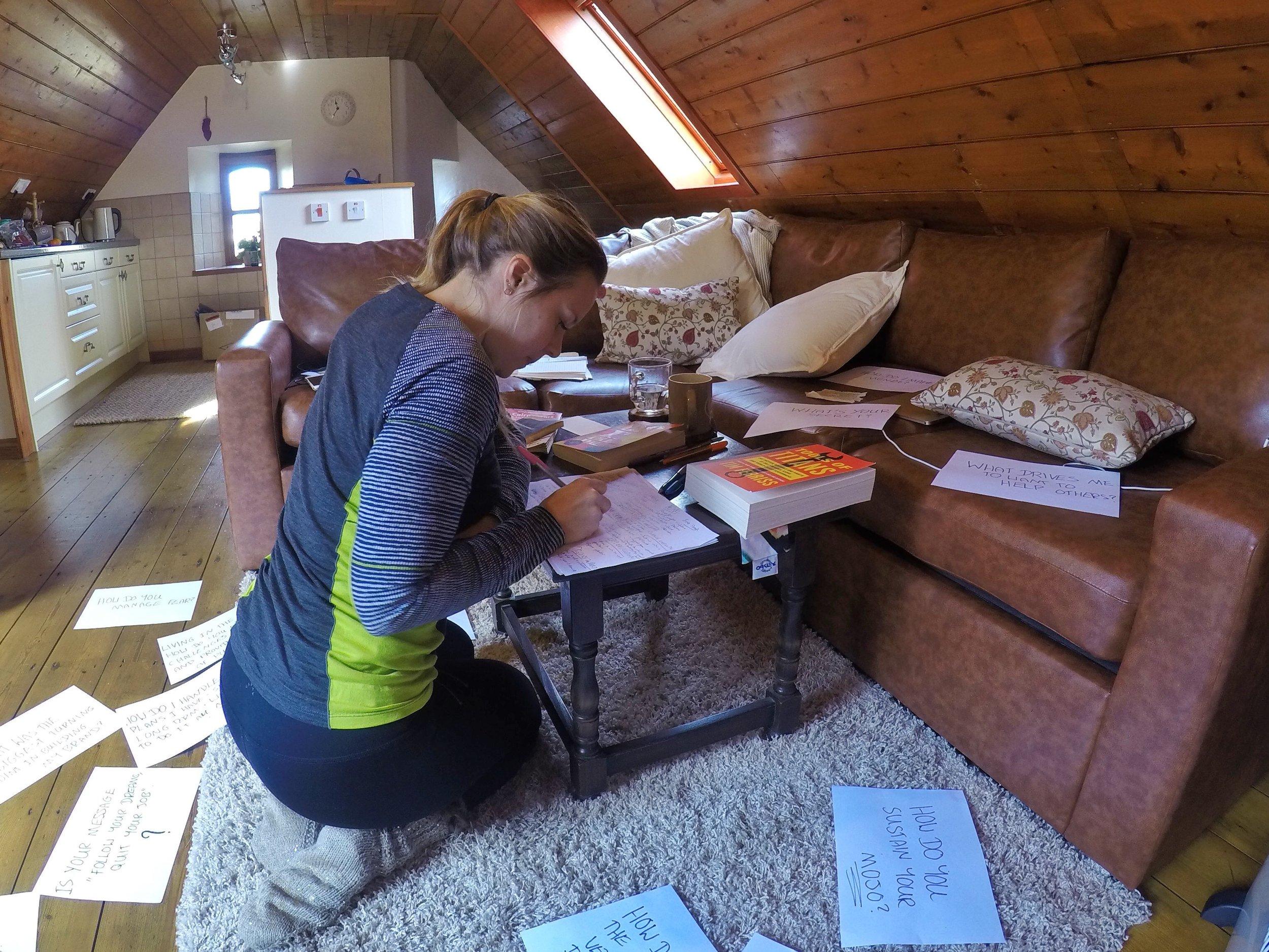 Brainstorming session sophie radcliffe scotland
