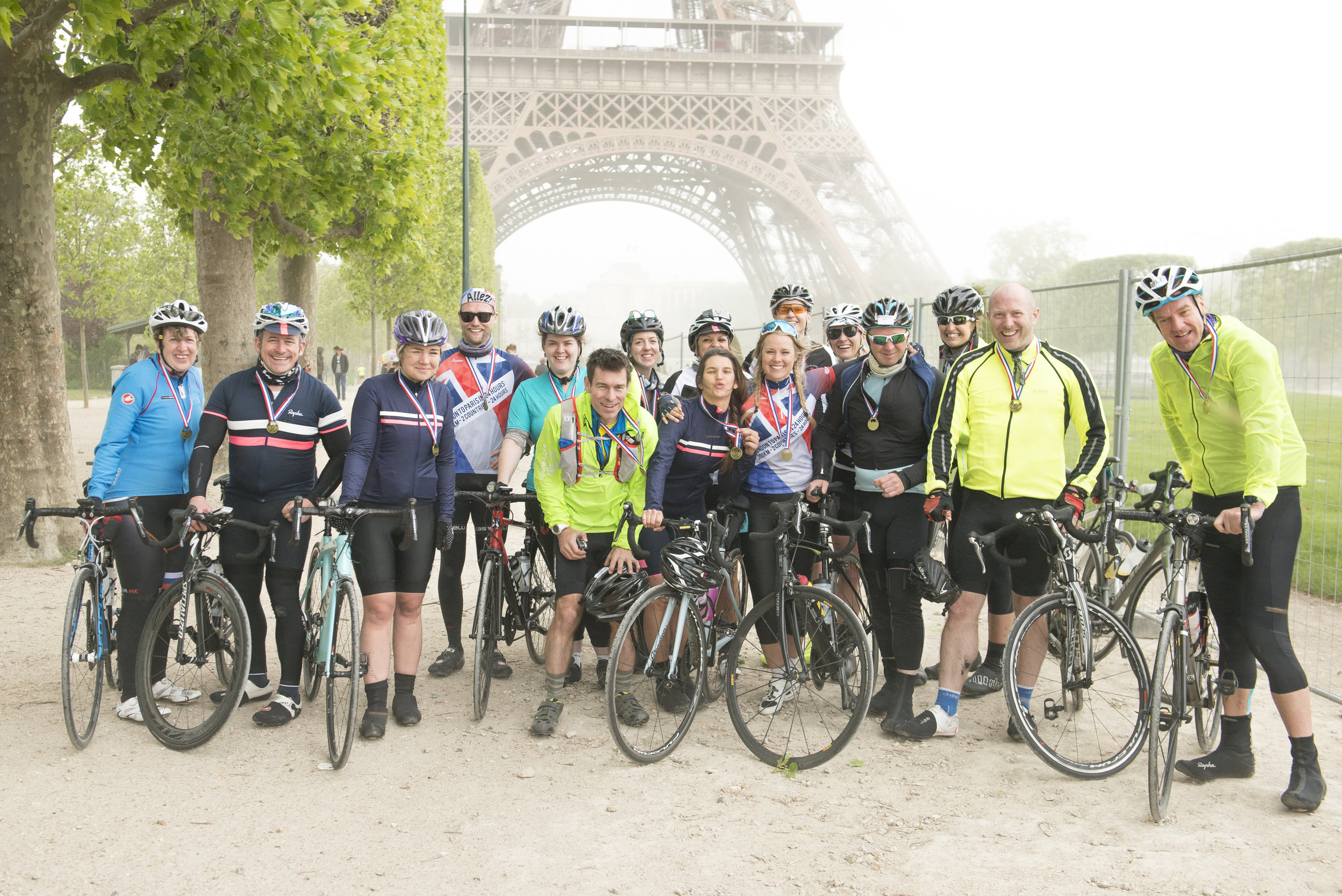 Cycle London to Paris in 24 hours, L2P24 Challenge Sophie's Sportive