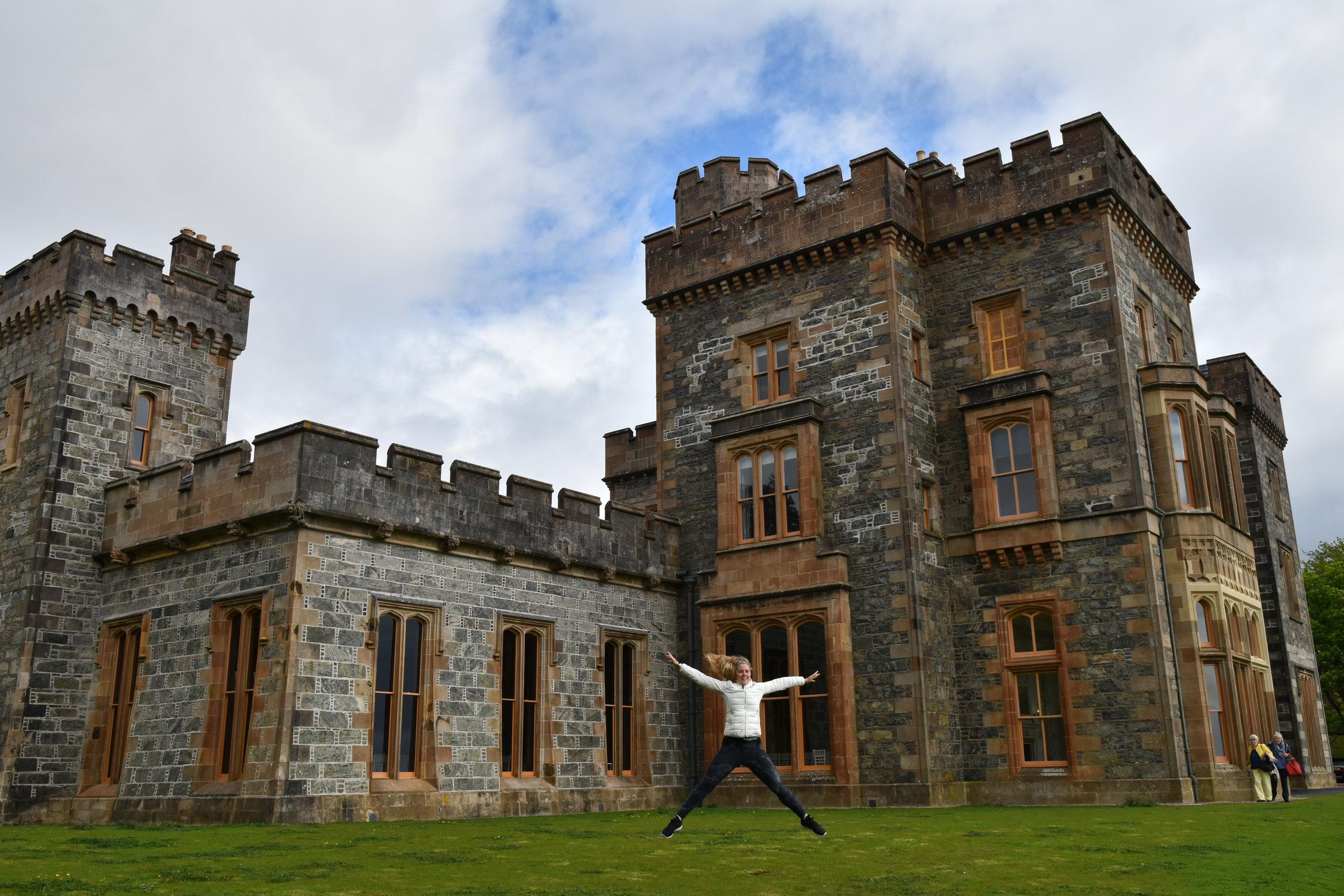 Lews Castle, Scotland, Outer hebrides adventure road trip