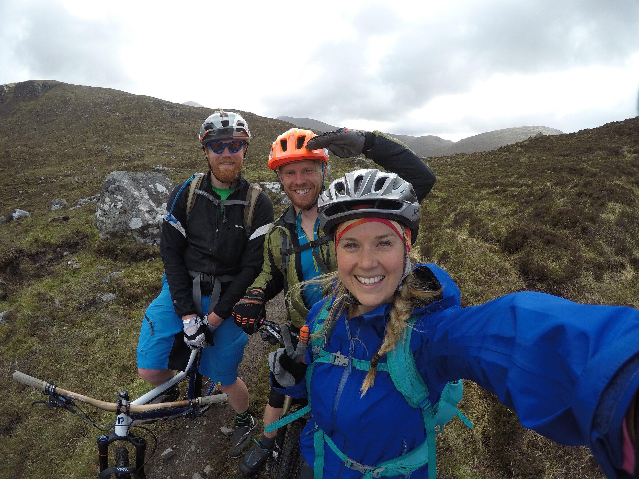 Mountain Biking Scotland, Outer hebrides adventure road trip