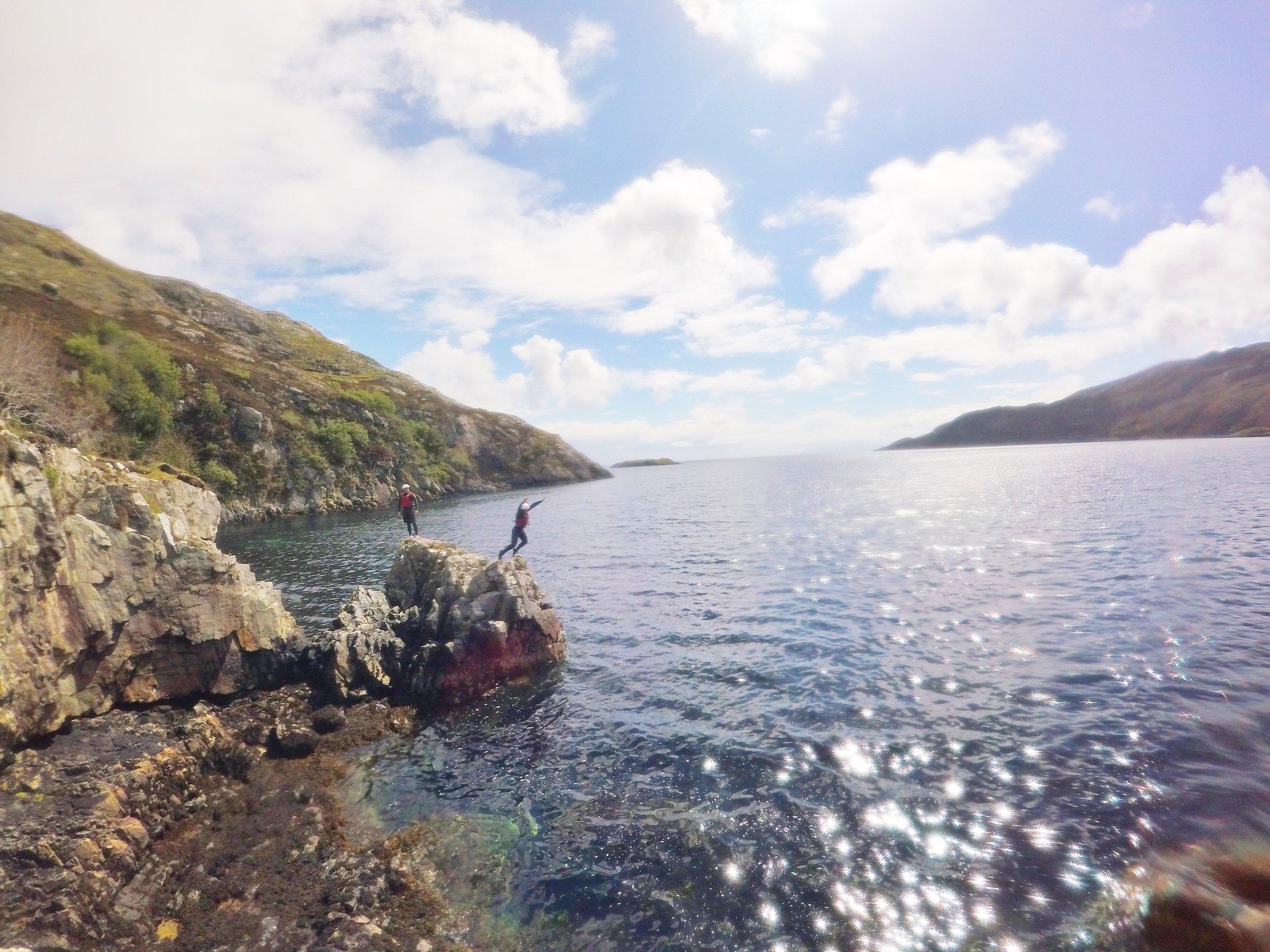 Coasteering Scotland, Outer hebrides adventure road trip