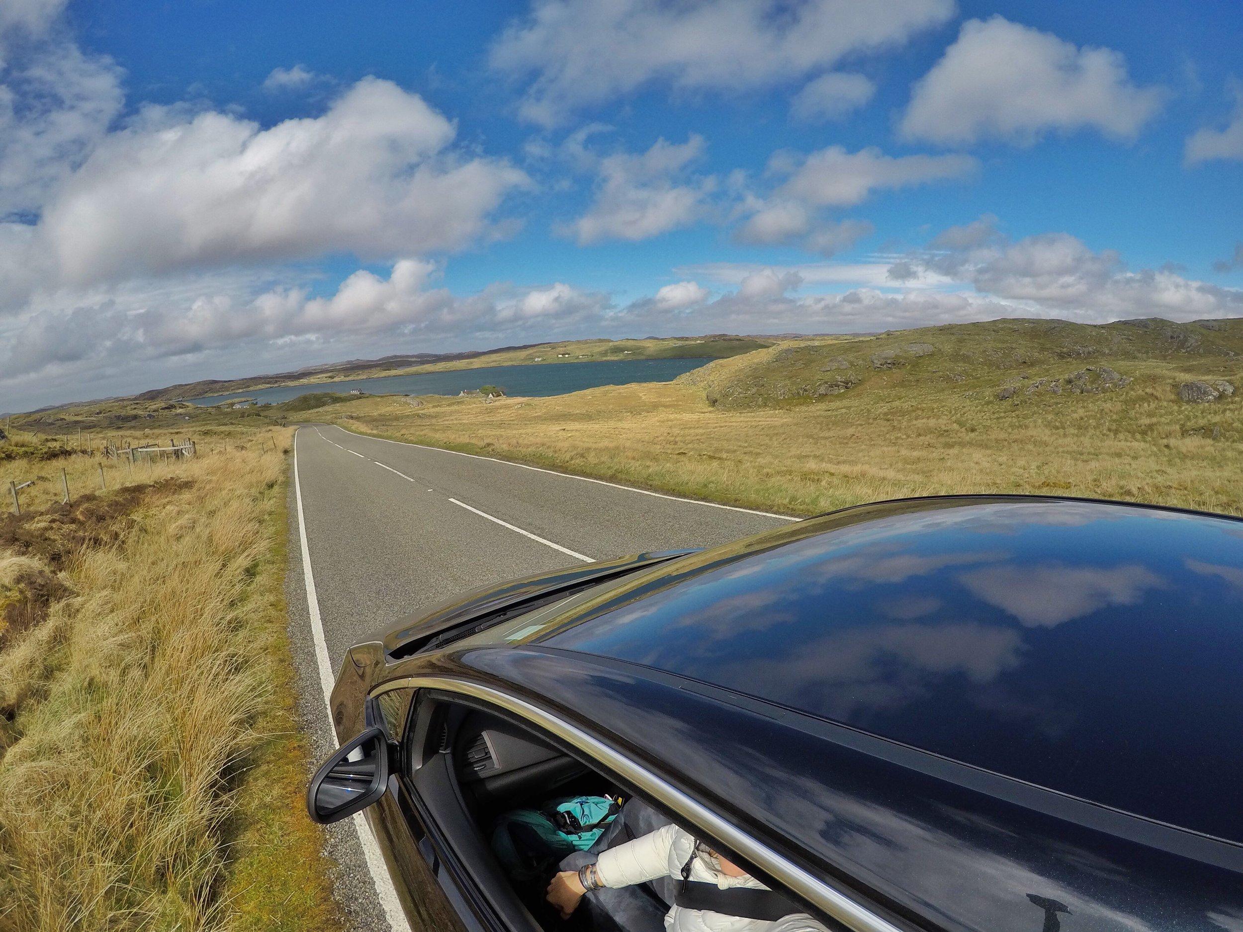 Road Trip Outer hebrides adventure, Challenge Sophie