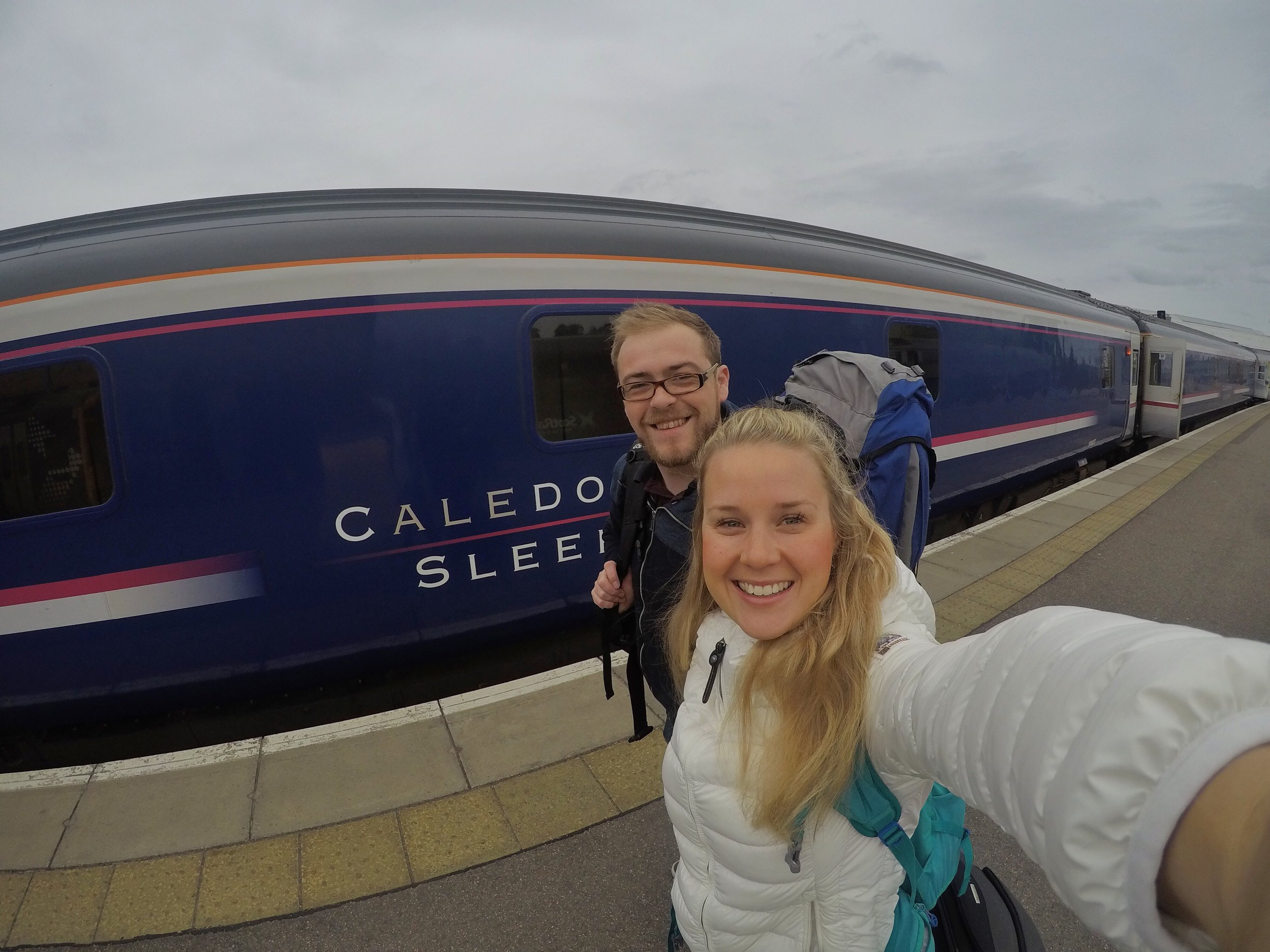 The caledonian Sleeper Train, Scotland, Challenge Sophie, Outer Hebrides adventure